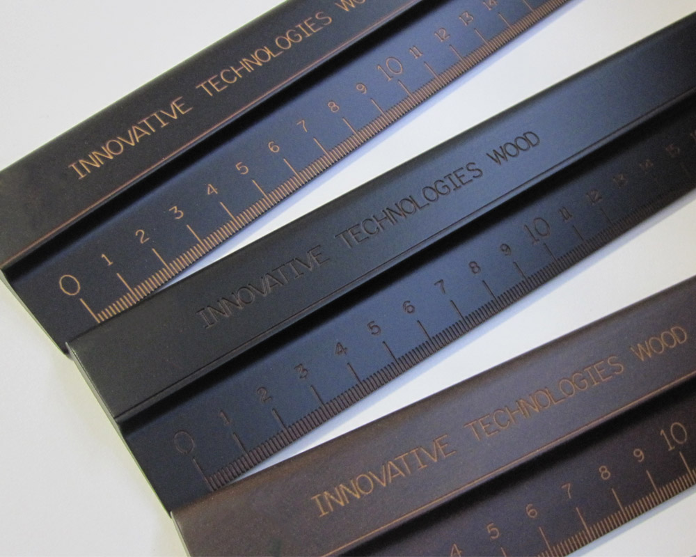 company christmas gifts: wooden rulers