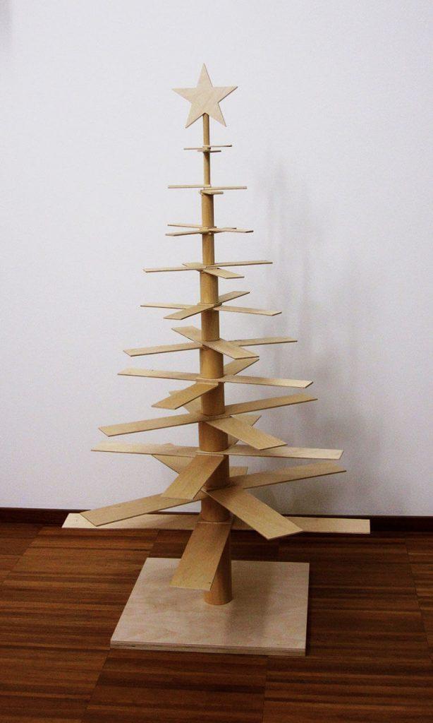 Albero di Natale in legno - Fcasnc