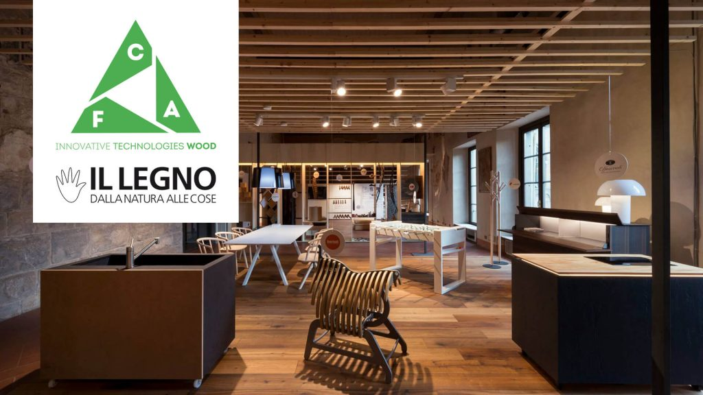 Il legno dalla natura alle cose 2018 - wood from nature to things 2018