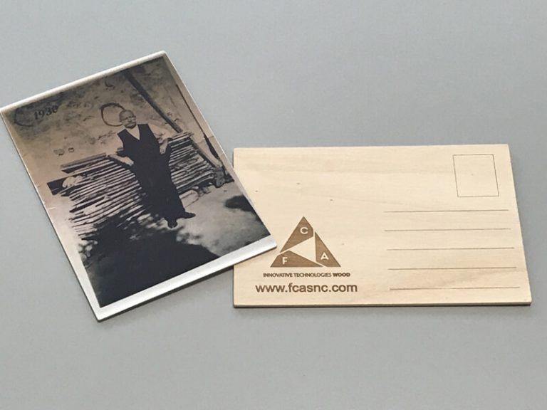 Cartoline in legno come regalo aziendale - 2