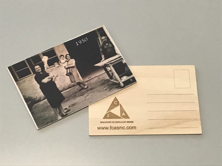 Cartoline in legno come regalo aziendale - 3