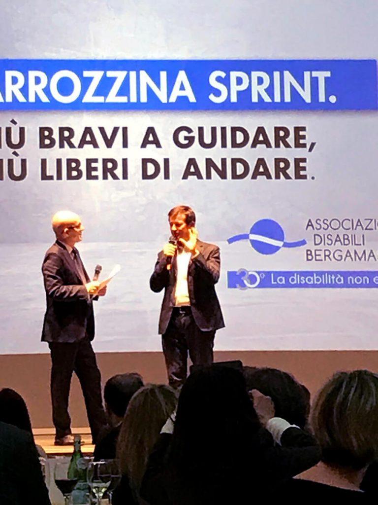 Carrozzina sprint adb - cerimonia - 1