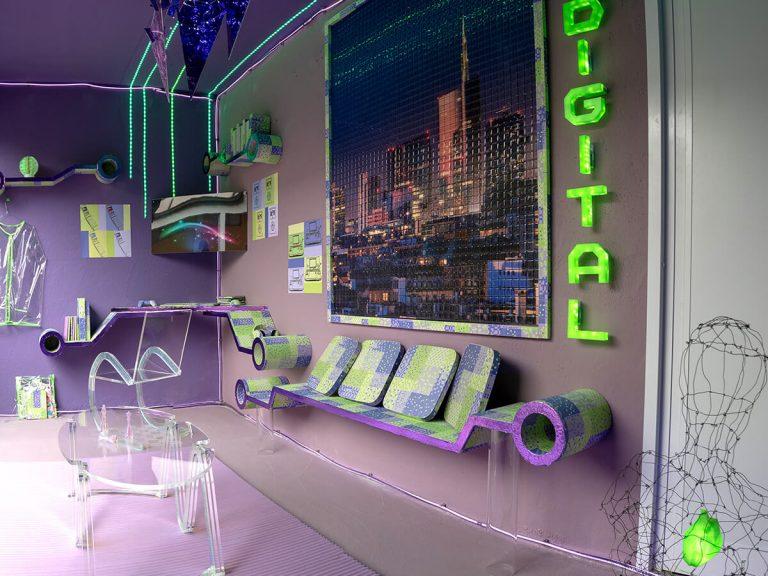 Oggetti in legno di design - Winx Tecna - Mensole e tavoli
