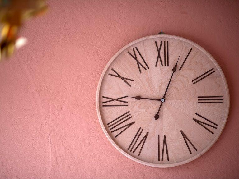 Orologio di design in legno - Winx Stella